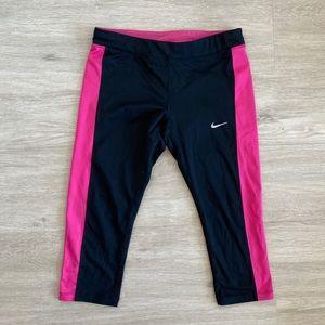 Nike Dri Fit Capri Yoga Leggings Running Pants M